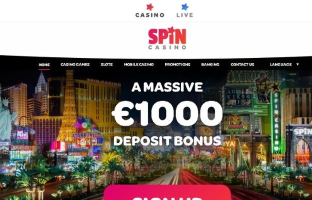 welcome packages spin casino